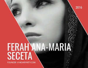 Interview with Ferah Ana-Maria Seceta