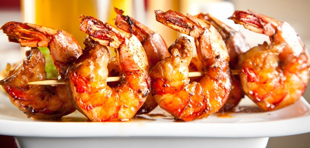 recipe: marinated grilled shrimp kabobs [2]