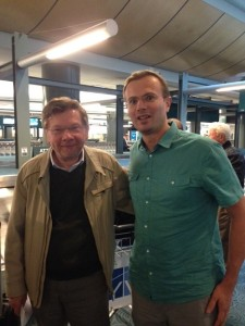 Eckhart Tolle and Frank Ra in Vancouver_www.tentionfree.com