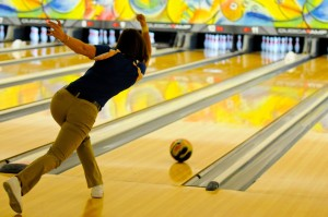 How To Throw A Bowling Ball Straight