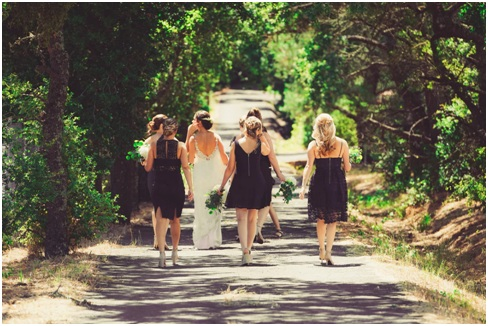 Ideas for Mix and Match Bridesmaid Dresses-